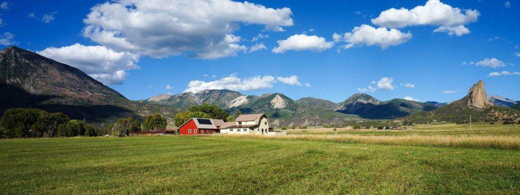 farm retreat center panorama